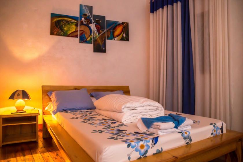 Chambre double à Antananario, Madagascar